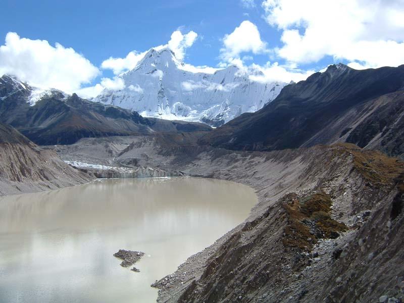 Glacial lake, Lunana