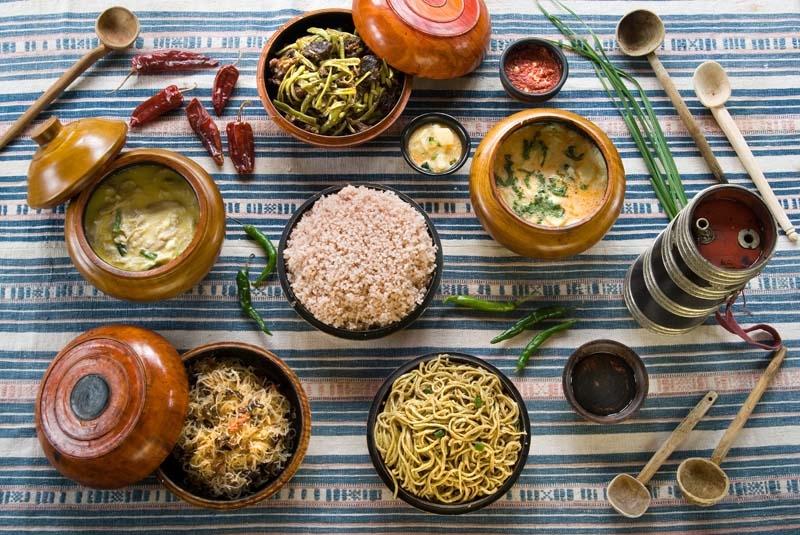 Thimphu - Rabten restaurant (2)