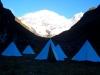 Tents at Jangothang