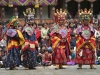 Masked dance at Paro festival